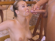 Nikky shows ballet and anal fuck at the same time