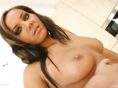 Creampie scene with Nataly by All Internal