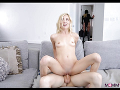 Blonde Mom shows Couple how to Fuck