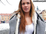 Amateur Eurobabe Dominika sex for money