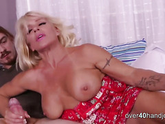 Horny Mature Milf Relaxes With Daughter's Bf