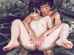Yui Kasugano enjoys more than sex while in the jacuzzi