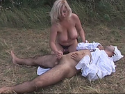 Amazing milf banging young guy