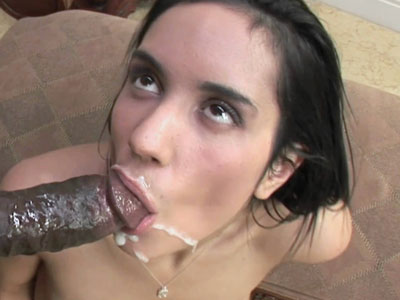 Compact cutie tia cyrus fucks and takes the cum on her face 1