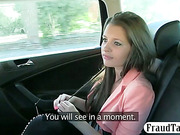Amateur banged in exchange for her fare