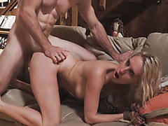 Two girlfriends go for a walk and one of them gets to have a hot fuck