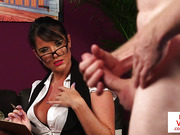 CFNM fetish MILF instructs sub stranger