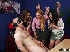 Cfnm domina cum soaked